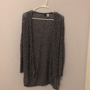 Peppered light knit cardigan from H&M